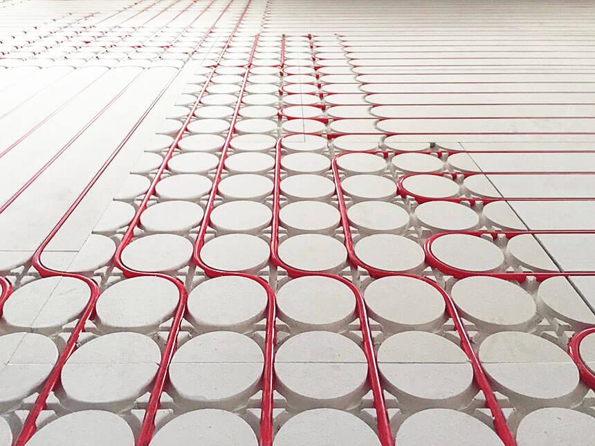 plafond rayonnant hydraulique